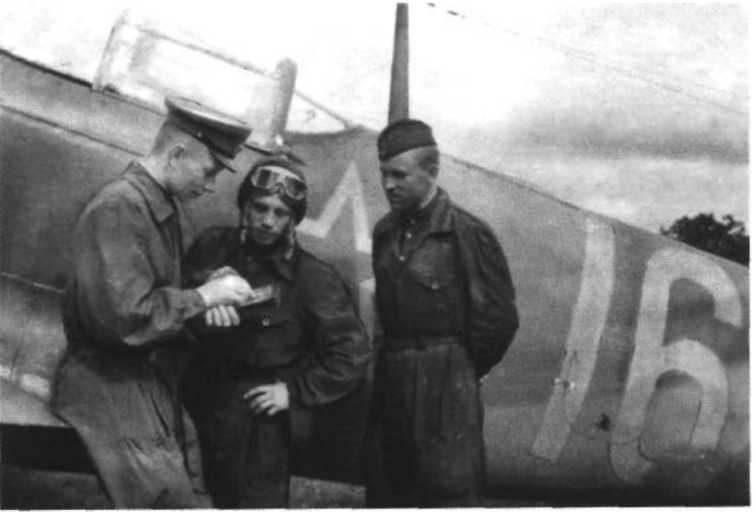 Я дрался с асами люфтваффе. На смену павшим. 1943—1945.