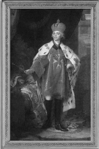 В л боровиковский портрет павла i в