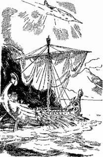 Лодка над Атлантидой (С иллюстрациями)