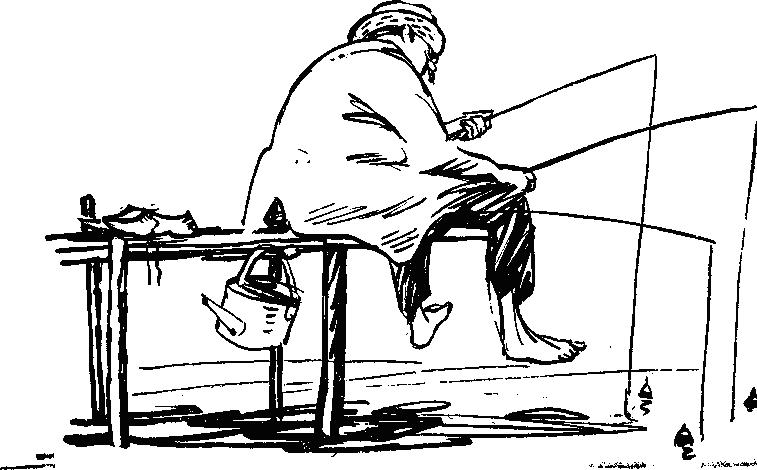 ноты любитель рыболов старокадомского