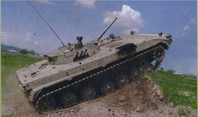 Боевые машины пехоты БМП-1, БМП-2 и БМП-3