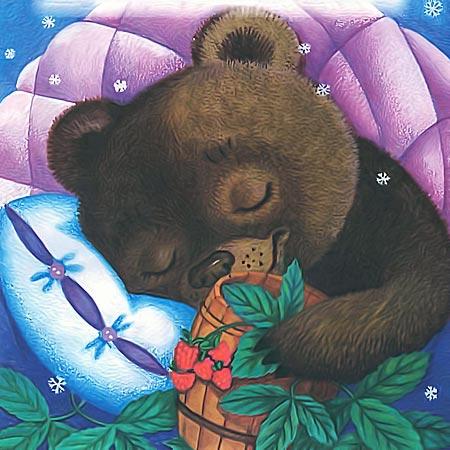 Почему не спит медведь зимой спит