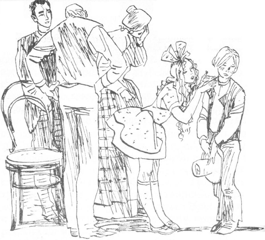 Рисунки о наказаниях девушек 37