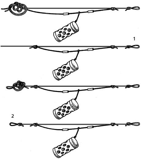 стопорные узлы на фидер