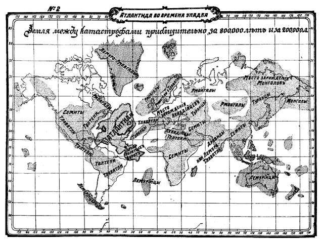 История Атлантиды