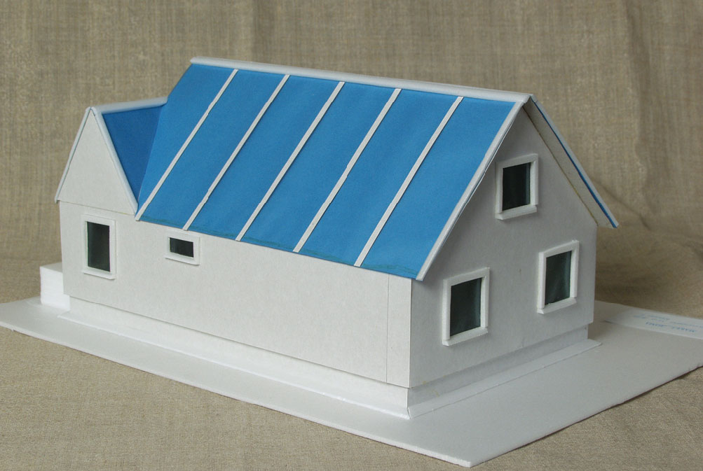 Как сделать макет дома из бумаги с
