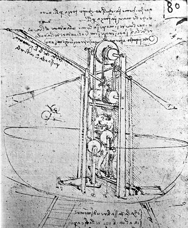 Рисунок леонардо да винчи осексе