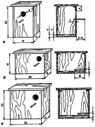 Гнезда для попугая своими руками