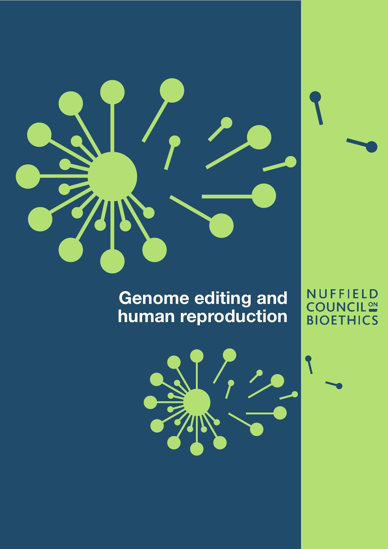 Genome editing and human reproduction