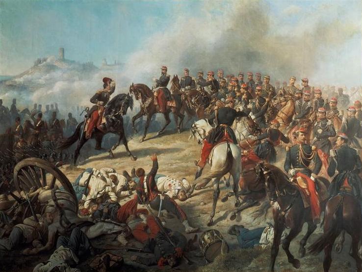 Воспоминание о битве при Сольферино
