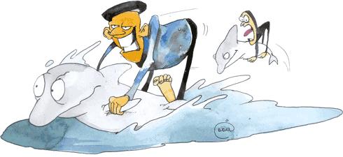 Пиастры, пиастры, или Операция «Морской ёрш»