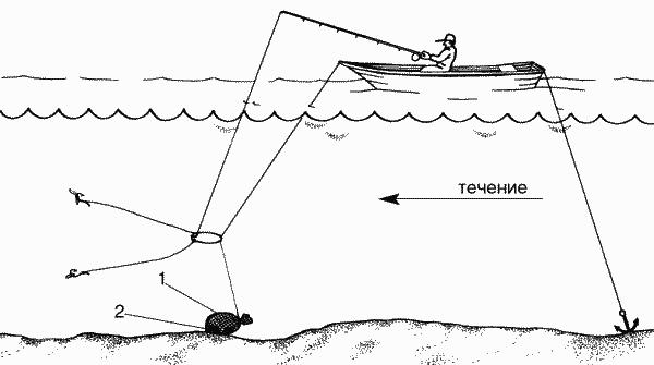 ловля рыбы на кормушку с сеткой видео